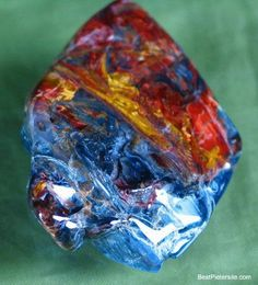 Uncut Raw Blue Amber Blue Amber Is The Rarest Of All