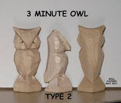 ... owl more wood carving owl waiata whittling owl whittling project