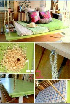 Pergolas Swing Beds And Swings On Pinterest
