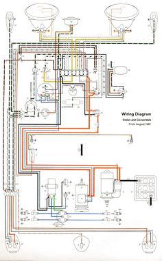 1965 VW Wiring Diagram | Volkswagen Wiring Diagrams