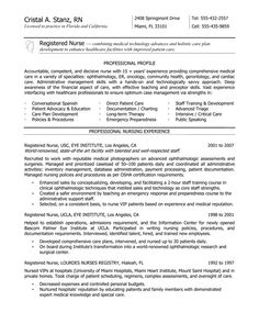 rn resume resume and nurses on pinterest