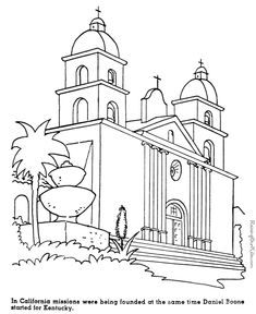 color and learn coloring pages of historic places in the u s