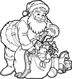 free santa claus printable coloring pages santa claus pictures