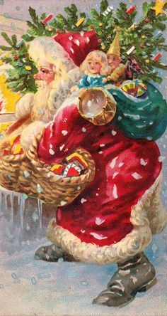 1000 Images About Here Comes Santa Claus On Pinterest