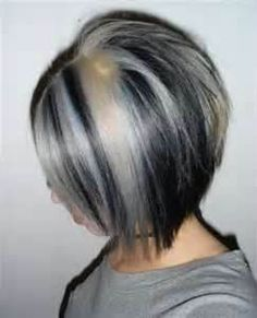 1000 images about white silver highlights on pinterest gray hair black hair and white