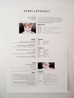 vitae design on pinterest resume resume design and curriculum