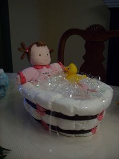 1000 Images About Baby Diaper Tub On Pinterest Diaper Cakes Diapers And Bathtubs