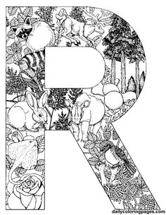 alphabet coloring pages coloring and coloring pages for adults on