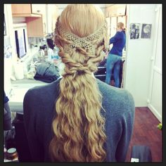 The White Queen Inspired Hair Anne Nevilles Five Strand