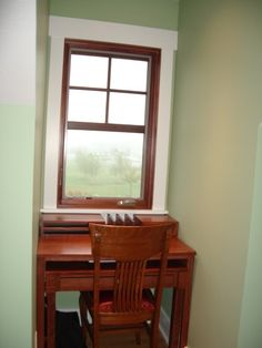 Window Trim And Baseboard Style But Stained Not White
