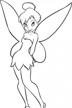 disney princess coloring pages tinkerbell and princess coloring