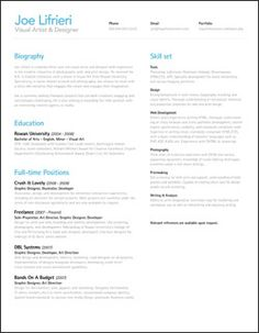 resume samples on pinterest resume curriculum and resume design
