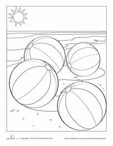 beach ball templates and beaches on pinterest