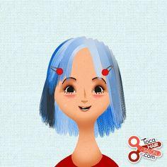 From The App Toca Hair Salon 2 Toca Boca Pinterest