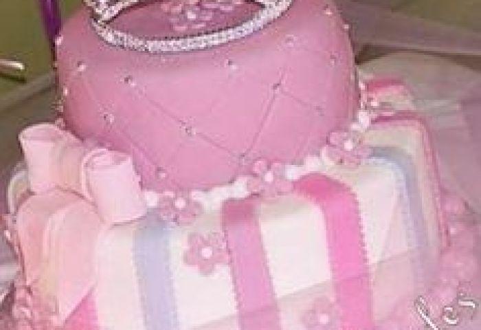 1st Birthday Cake Princess Theme