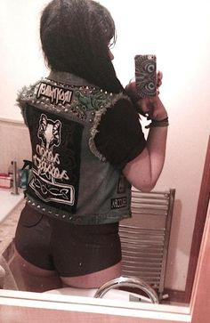 Battle Jacket Hetfield Metallica Pinterest Jackets