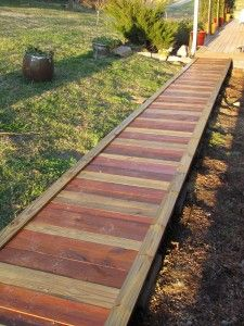 Wooden Walkways on Pinterest | Walkways, Wood Walkway and Gardening