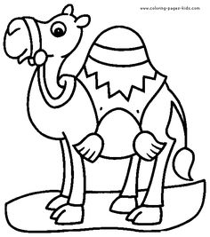coloring pages coloring and camel on pinterest