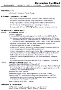 Program Analyst Resume Examples. 1000 images about career diy on ...