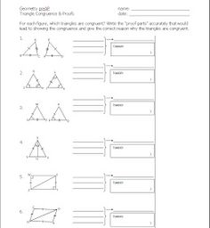 Images About Geometry Congruent Triangles On