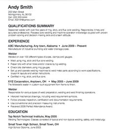 welder resume sample resumecompanion com manufacturing