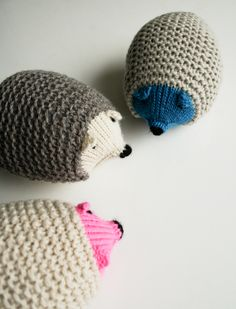 Knit Hedgehogs - Rec