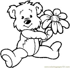 teddy bears coloring pages and coloring on pinterest