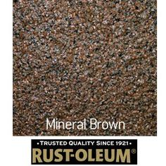 Rust Oleum Stone Spray Paint Mineral Brown 400ml From Homebase Co