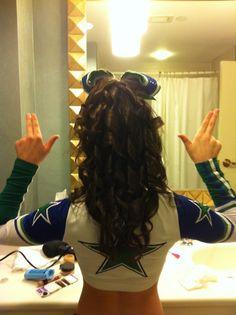 Cheerleading Hairstyle Ideas On Pinterest Cheer Hair