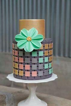 Modern cake from I (