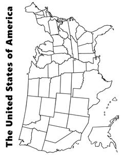 us map coloring pages and coloring on pinterest