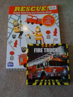 Fire Engine Fun Cake Toppers Rescue Vehicles Birthday