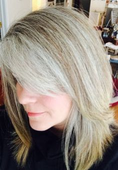 gray hair transition on pinterest gray hair grey hair and silver hair