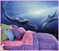 Mermaid Girls Rooms On Pinterest Mermaid Bedding