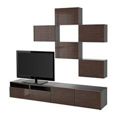 Ikea Tv Unit White High Gloss Spiral Rotating Storage Coffee Table