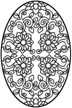 Icolor Easter Eggs Icolor Easter Eggs Easter Egg Coloring Pages Coloring Easter Eggs Egg Coloring Page
