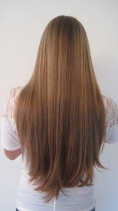 Brown Straight Hair On Pinterest Medium Brown Hairstyles