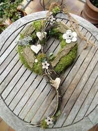 Sehr Schner Grabschmuck Aus Moos Floristisches Werkstck