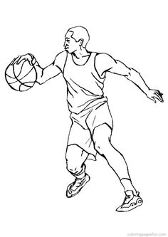 sports basketball colouring pages and coloring pages on pinterest