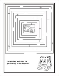 ambulance coloring pages and coloring on pinterest