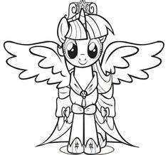 my little pony twilight coloring pages free coloring pages printable