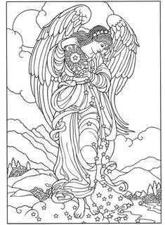 angel coloring pages angel adult coloring pages angels coloring pages