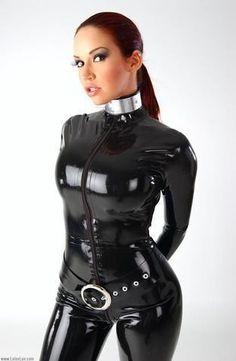 latex pet slave