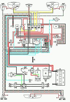 1965 VW Wiring Diagram | 1965 Volkswagen Type1 Beetle DIY
