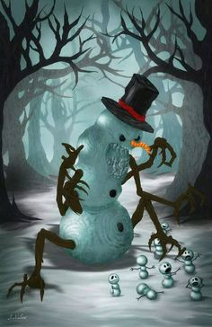 1000 Images About Evil Holidays On Pinterest Snowman