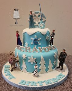 Disney Frozen Cake Cake Designs Pinterest Disney
