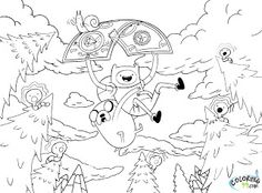 adventure time coloring pages adventure time and coloring pages