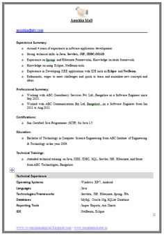 career profile example for resume 100 cv templates writing your