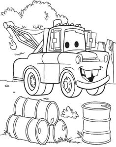 tow mater coloring pages and coloring on pinterest