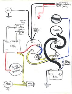 1000 images about Motorcycle Wiring Diagram on Pinterest